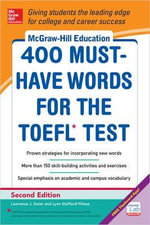 McGraw-Hill Education 400 Must-have Words for the TOEFL - Lynn M. Stafford-Yilmaz
