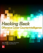 Hacking Back : Offensive Cyber Counterintelligence - Sean Bodmer