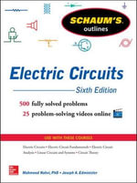 Schaum's Outline of Electric Circuits : Schaum's Outlines - Joseph A. Edminister