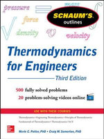 Schaum's Outline of Thermodynamics for Engineers : Schaum's Outline Series - Merle C. Potter