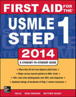 First Aid for the USMLE Step 1 2014 : First Aid for the USMLE Step 1 - Tao Le