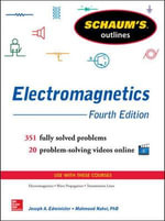Schaum's Outline of Electromagnetics : Schaum's Outline Series - Joseph A. Edminister