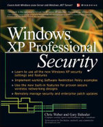 Windows XP Professional Security - Chris Weber
