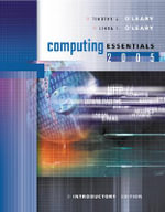 Computing Essentials 2005 : Introductory Edition - O'leary