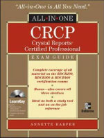 CRCP Crystal Reports Certified Professional All-in-one : All-in-One - Annette Harper