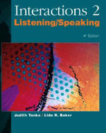 Interactions/Mosaic, 4th Edition - Interactions 2 (Low Intermediate to Intermediate) - Listening/Speaking Audiocassettes (6)