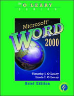 Microsoft Word 2000 : Brief Edition - Timothy J. O'Leary