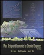 Plant Design Chemical Engineers : 5th Edition - Max S. Peters