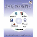 Service Management : Operations, Strategy, and Information Technology - James A. Fitzsimmons
