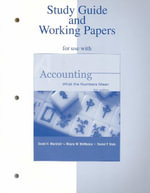 Accounting: Study Guide/Working Papers : What the Numbers Mean - David H. Marshall