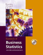 Essentials of Business Statistics - Bruce L. Bowerman