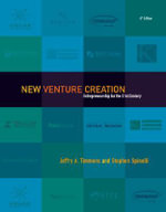 New Venture Creation : Entrepreneurship for the 21st Century - Jeffry A. Timmons