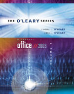 O'Leary Series : Microsoft Office 2003: v. I - Timothy J. O'Leary