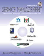 MP Service Management : With Student CD with Service Model - James A. Fitzsimmons