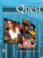 Quest : Intro Level Listening and Speaking Student Book - Laurie Blass