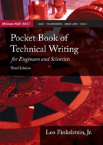 Pocket Book of Technical Writing for Engineers and Scientists - Leo Finkelstein