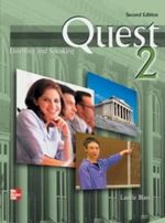 Quest: Listening and Speaking 2 : Audio CD to Accompany - Laurie Blass