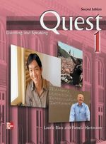 Quest : Listening and Speaking 1 with Audio CD - Laurie Blass