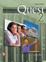 Quest : Listening and Speaking 2 with Audio CD - Laurie Blass