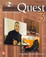 Quest : Listening and Speaking 3 with Audio CD - Laurie Blass
