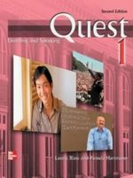 Quest: Listening and Speaking : Audio CD to Accompany - Laurie Blass