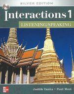 Interactions 1 Listening/Speaking Assessment Audio CD : Silver Edition - Interactions 1 (High Beginning to Low Intermediate) - Listening/Speaking Class Audio CD - Tanka Judith