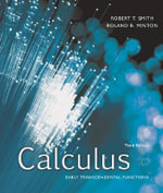 Calculus : Early Transcendental Functions - Robert T Smith
