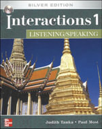 Interactions One Listening and Speaking with CD : Silver Ed (W/CD) - Judith Tanka
