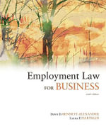 Employment Law for Business - Dawn D. Bennett-Alexander