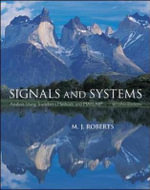 Signals and Systems : Analysis Using Transform Methods & MATLAB - M.J. Roberts