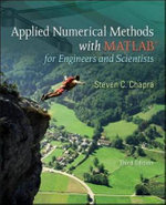Applied Numerical Methods with MATLAB : for Engineers & Scientists - Steven C. Chapra