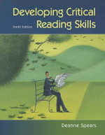 Developing Critical Reading Skills - Deanne Milan Spears