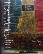 New Worlds : An Introduction to College Reading - Janet Elder