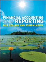 Financial Accounting and Reporting - Bill Collins