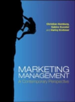 Marketing Management : A Contemporary Perspective - Christian Homburg