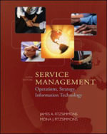 Service Management : Operations, Strategy, Information Technology - James A. Fitzsimmons