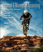 Financial and Managerial Accounting with Working Papers : Ch. 1-13 v. 1 - John J. Wild