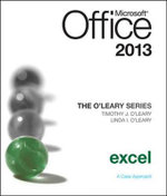 O'Leary Series : Microsoft Office Excel 2013, Introductory - Linda I. O'Leary