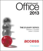 O'Leary Series : Microsoft Office Access 2013, Introductory - Linda I. O'Leary
