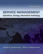 Service Management with Premium Content Access Card : Operations, Strategy, Information Technology - Fitzsimmons James