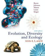 Lsc Evolution, Diversity and Ecology Units 4, 5 and 8 with Connect Plus Access Card - Peter Raven