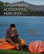 Fundamental Accounting Principles Volume 2 (Chapters 12-25) - John J Wild