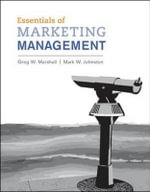 Essentials of Marketing Management W/ 2011 Update - Greg W. Marshall