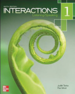 Interactions Level 1 Listening/Speaking Student Book - Judith Tanka