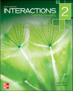 Interactions Level 2 Listening/Speaking Student Book - Judith Tanka