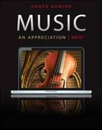 Music : An Appreciation (brief) Connect Upgrade Edition - Roger Kamien