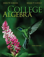 College Algebra with Connect Plus Access Code - John Coburn