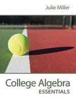 College Algebra Essentials with ALEKS Access Code - Julie Miller