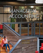 Managerial Accounting with Connect Plus - John Wild