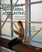 Financial and Managerial Accounting with Connect Plus - John Wild